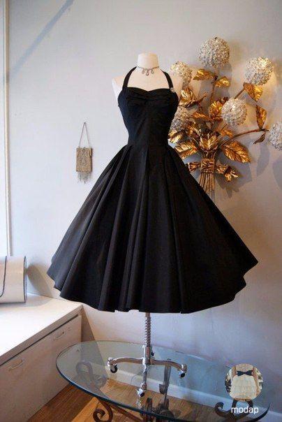 винтажные платья 50-х годов фото