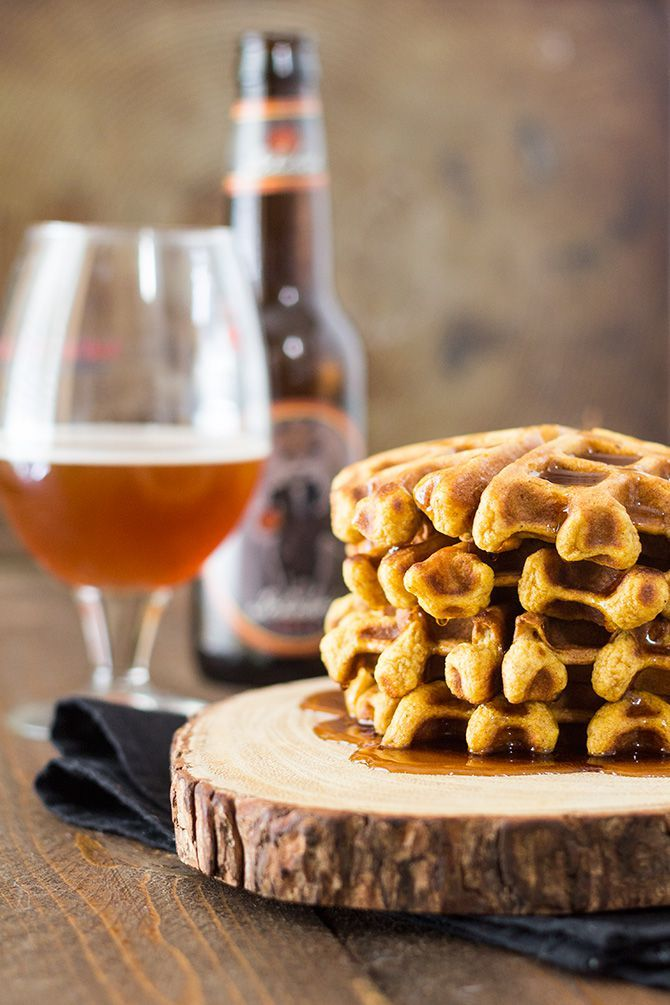 Pumpkin Ale Waffles - cooking with beer recipe