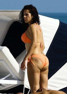Celebrity Girls Pics: Shera Kerienski In Orange Bikini In Miami.Dec.2016.Pics.