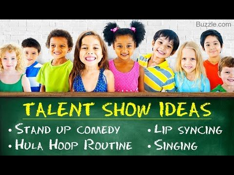 Talent Show Ideas for Kids: You Would Surely Love Them