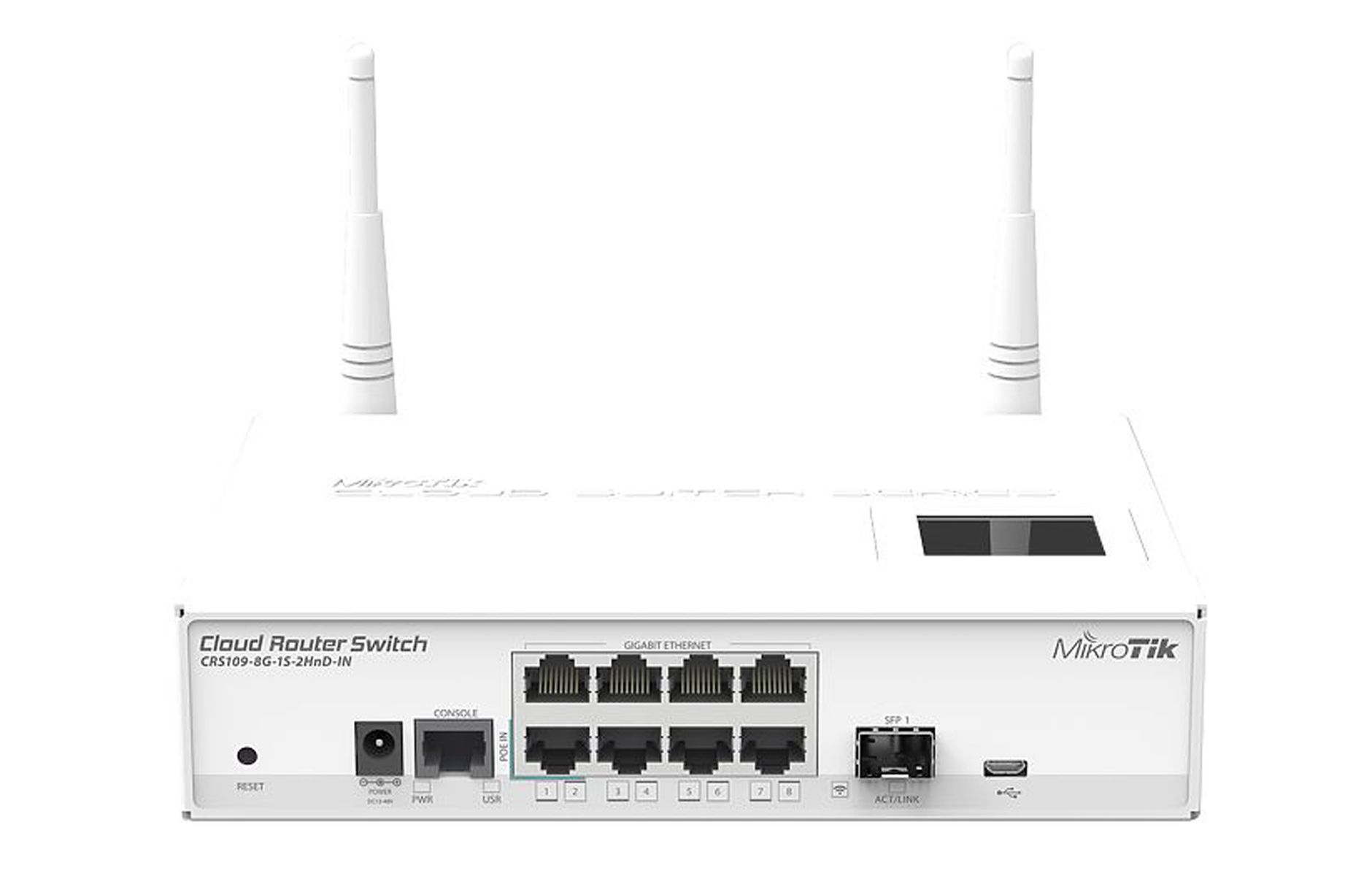 Mikrotik Cloud Router Switch Crs109 8g 1s 2hnd In Rb2011uias Rm