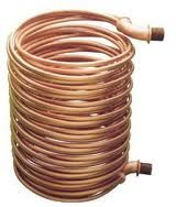 Diy Tankless Water Heater Copper Coil Inserted Into Chemical Fuel Water Heater Propane May Be Used As Fuel Ideally Heat Exchanger Water Heater Diy Diy Water