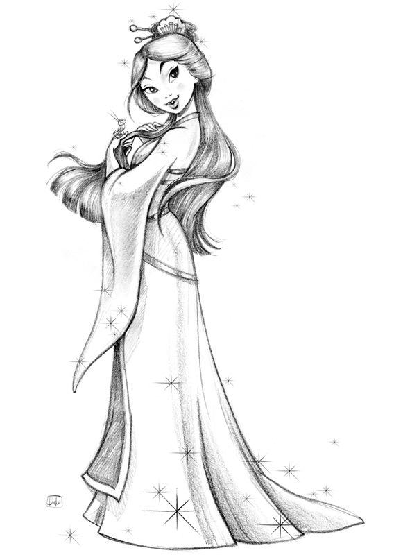 Disney Princess on Behance #disneyprincess