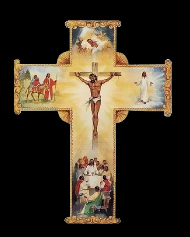 Открытки с крестами, надписью