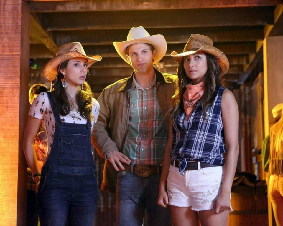 Spencer and Toby and Emily