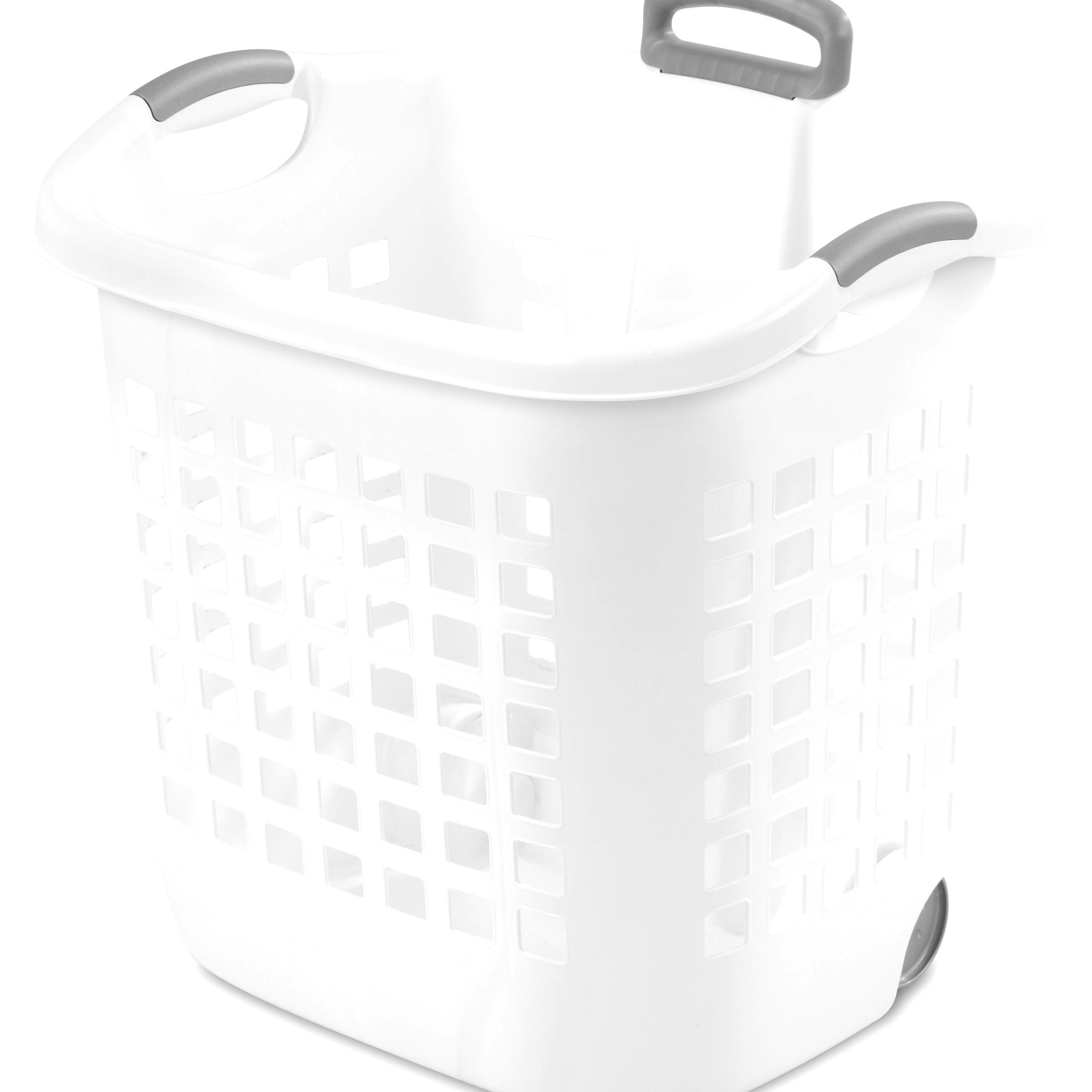 Free 2 Day Shipping Buy Sterilite 175 Bushel White Ultra Wheeled