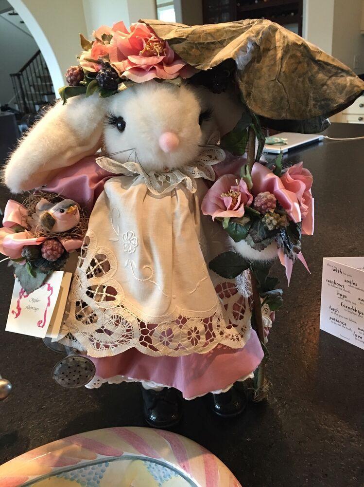Apple Whimsay Bunny 1994 Really Rosie 53/100 Bunny