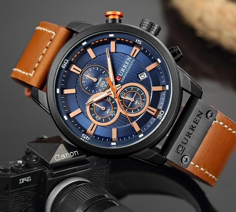 Connor Chronograph Watch Luxury Watches For Men Trendy Watches Mens Fashion Watches