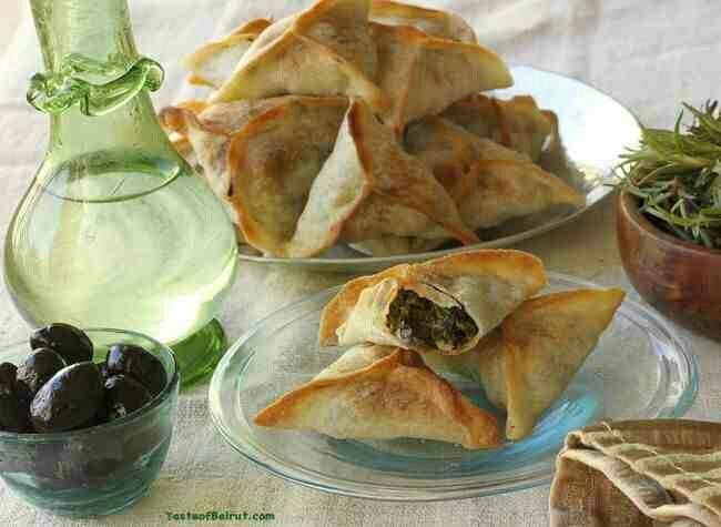 Lebanese samosa
