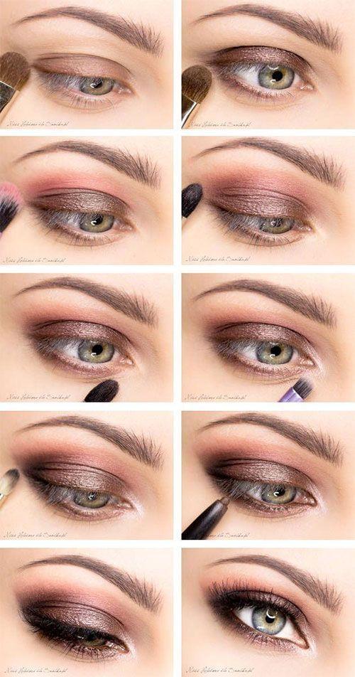 12+ Einfache und leichte Herbst Makeup Tutorials für Anfänger und Anfänger 20... #fallmakeuplooks