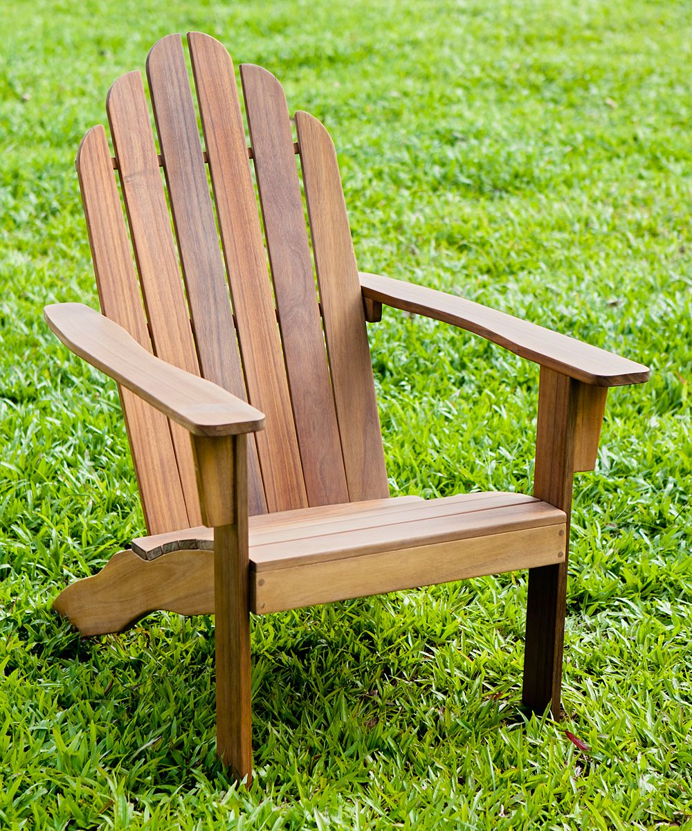 Natural Stain Adirondack Chair Products Pinterest