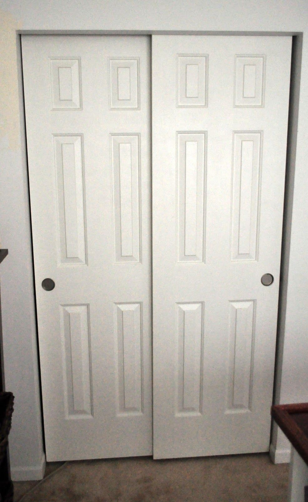 Sliding closet door handles togethersandia pinterest
