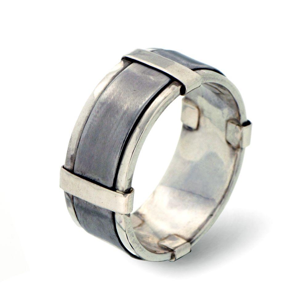 mens unusual wedding rings - Unique Mens Wedding Ring