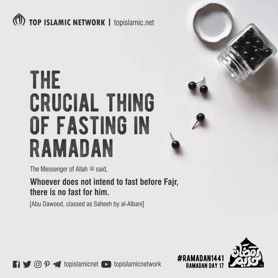 Ramadan Day 17 The Crucial Thing Of Fasting In Ramadan Ramadan Day Ramadan Sayings