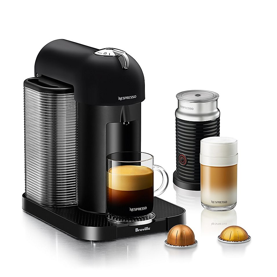 Nespresso By Breville Vertuoline Coffee And Espresso Maker Bundle In #espressomaker