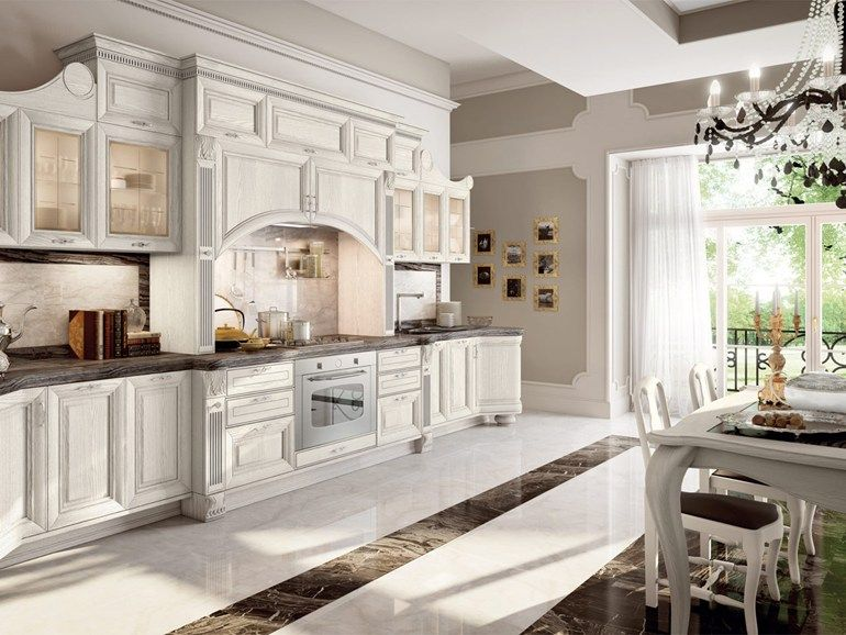 Decapé kitchen with handles Pantheon Collection by Cucine Lube ...