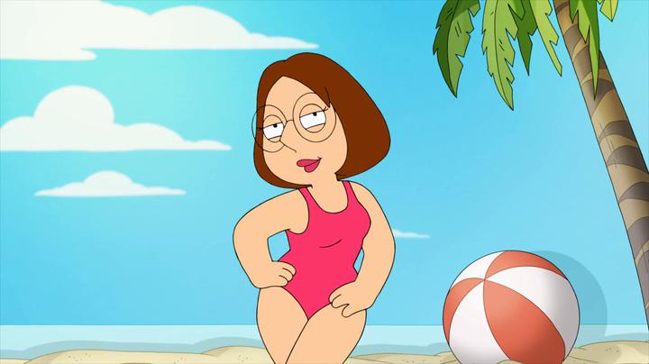 Cartoon bikini meg griffen wanna lift