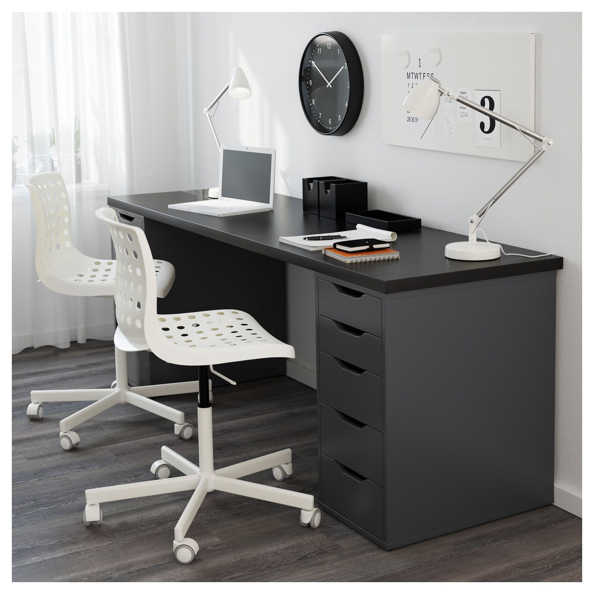Beau IKEA   ALEX, Drawer Unit/drop File Storage, White, , Drawer Stops Prevent  The Drawers From Being Pulled Out Too Far.Can Be Placed Anywhere In The  Room ...