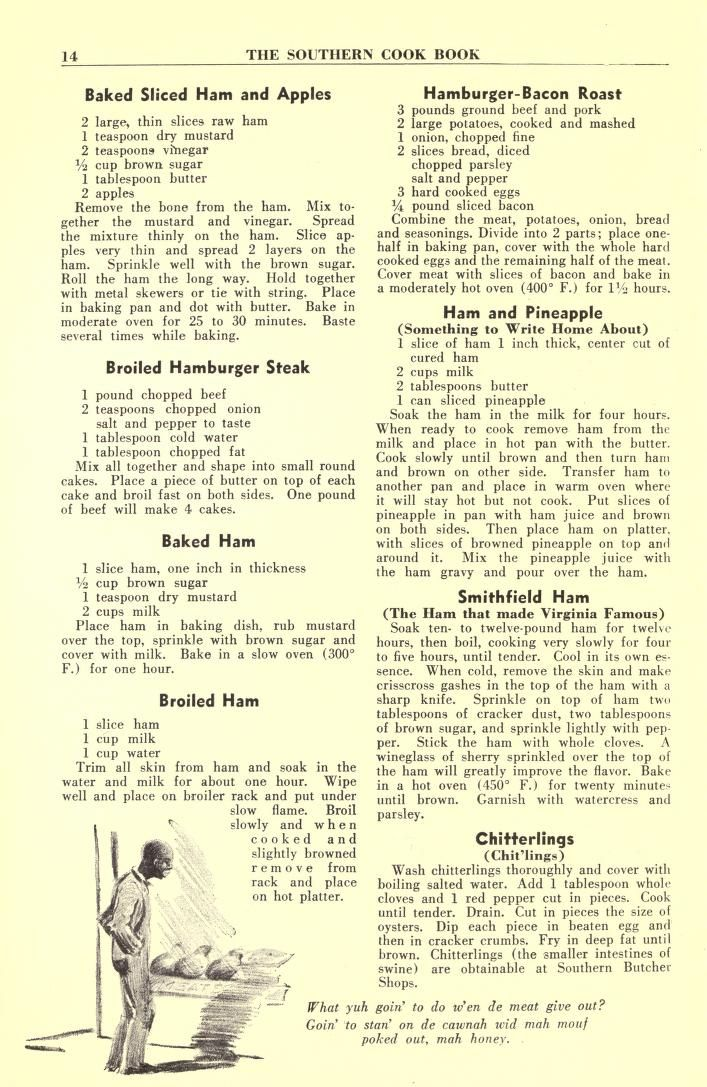 The Southern cook book of fine old recipes #summersouthernfood