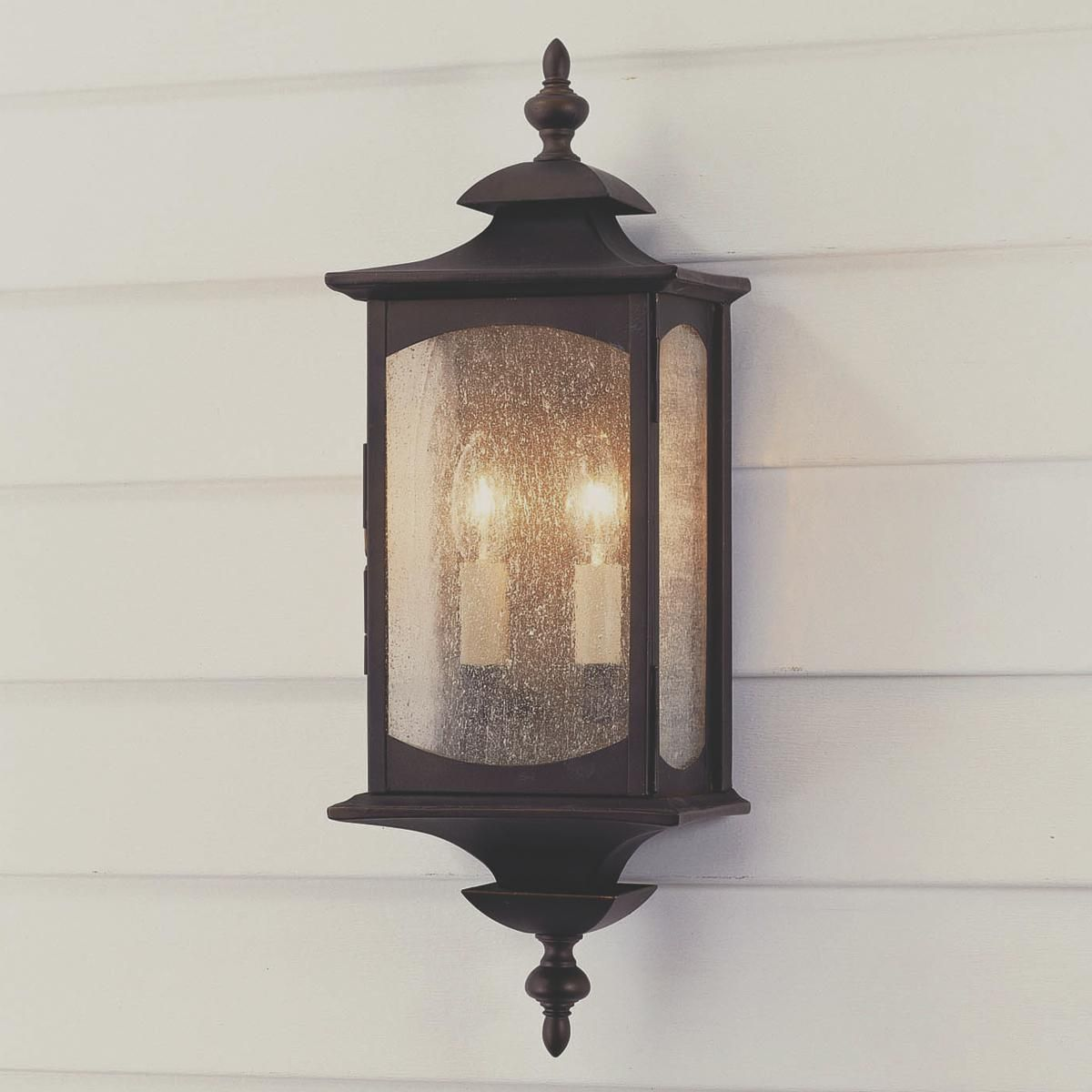 Exterior Lighting: Updated Coach Lantern Outdoor Light