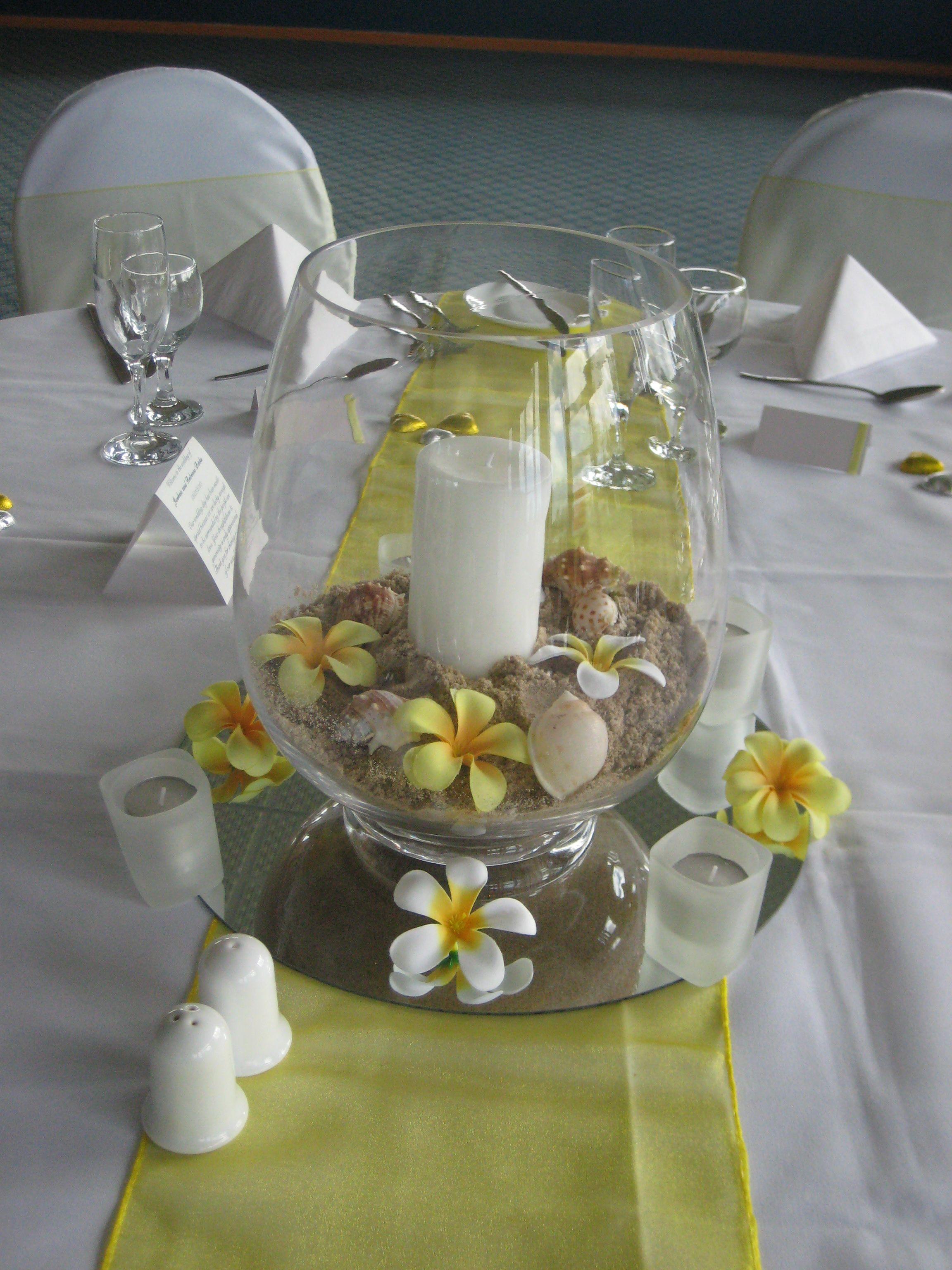 Picture Of Fish Bowl Wedding Centerpieces Wedding Arrangements