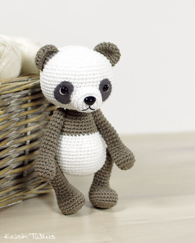 Amigurumi panda bear pattern // Kristi Tullus (spire.ee) | crochet ...