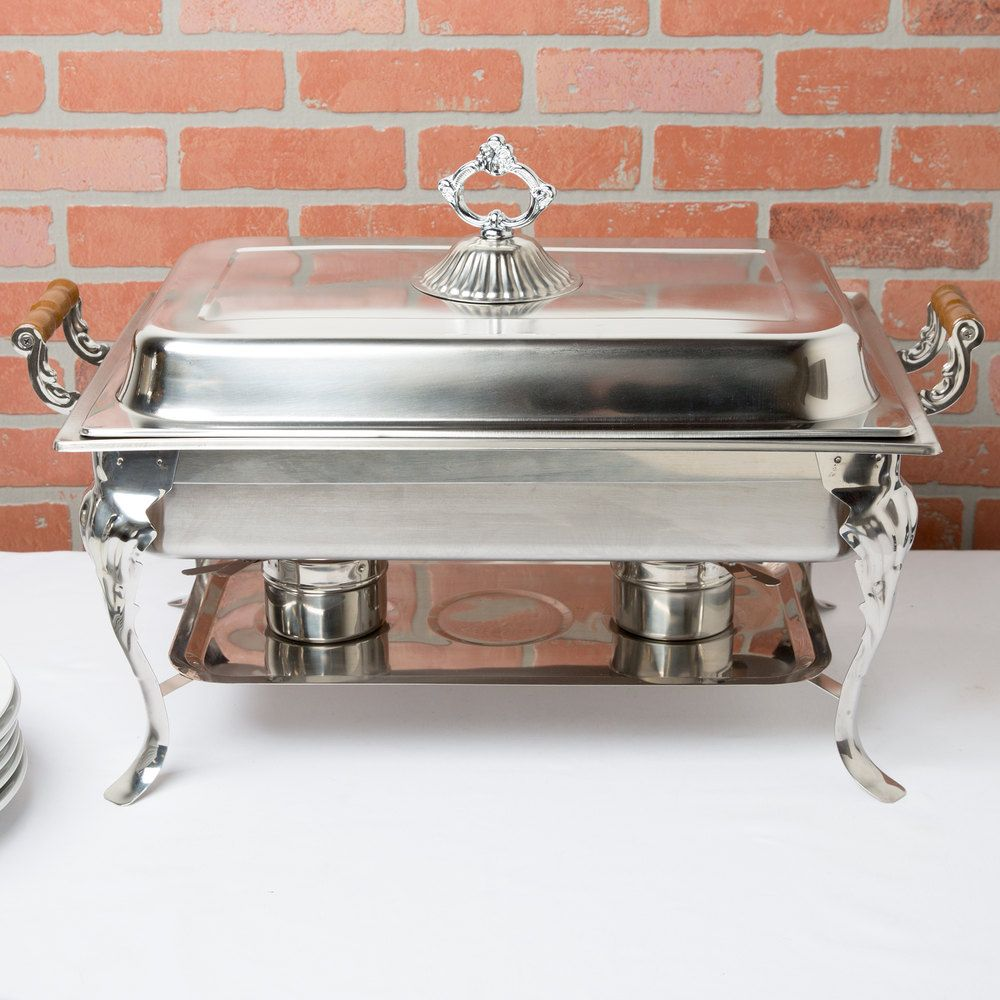 Choice classic 8 qt full size chafer chafing dishes