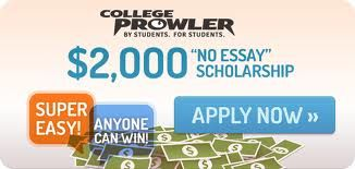 Super Easy A New Winner Every Month Scholarship Essay Application College Prowler No