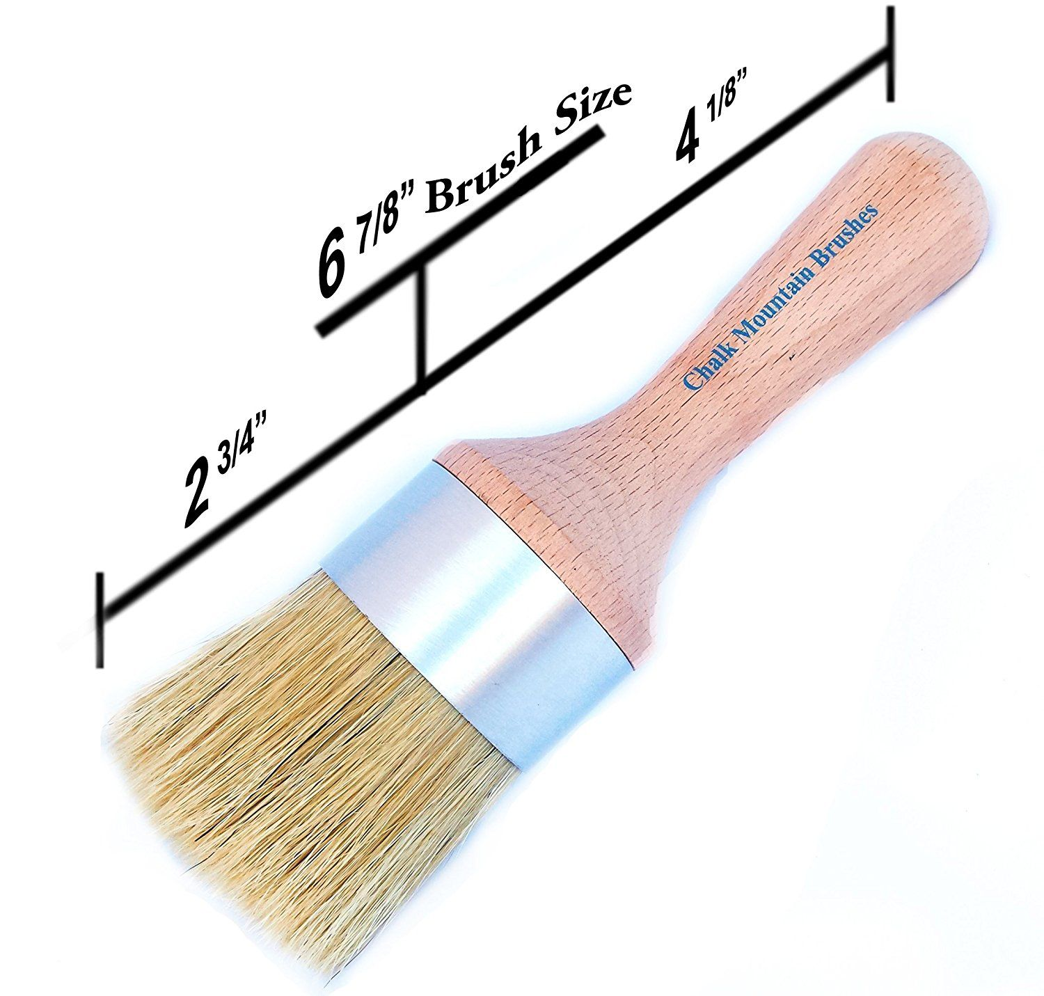 Chalk Mountain Brushes New Look Large Round Boar Hair Bristle Diy Furniture Wax Or Stenciling Brush Special Product Diy Furniture Wax Chalk Furniture Wax