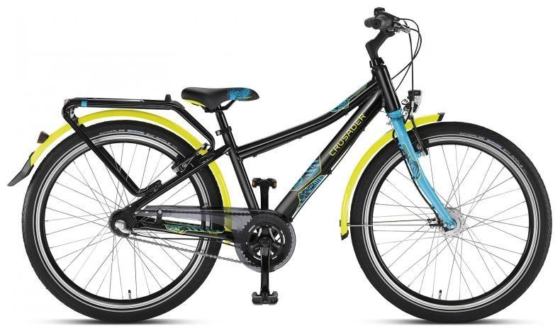 Fahrradlagerverkauf.com | Crusader 24-7 Alu City schwarz 2014 | Puky | Jugend 24 Zoll ab 7 Jahren