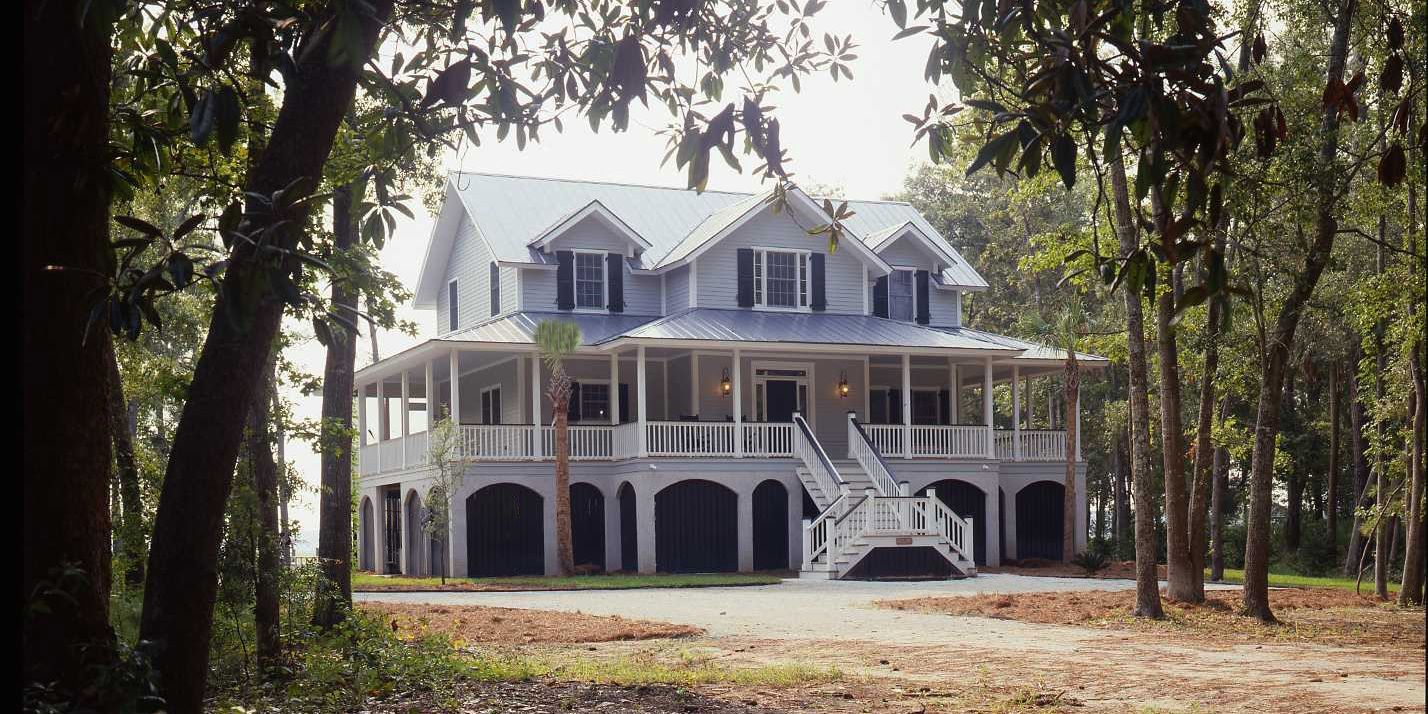 charleston home | southern, house and beams
