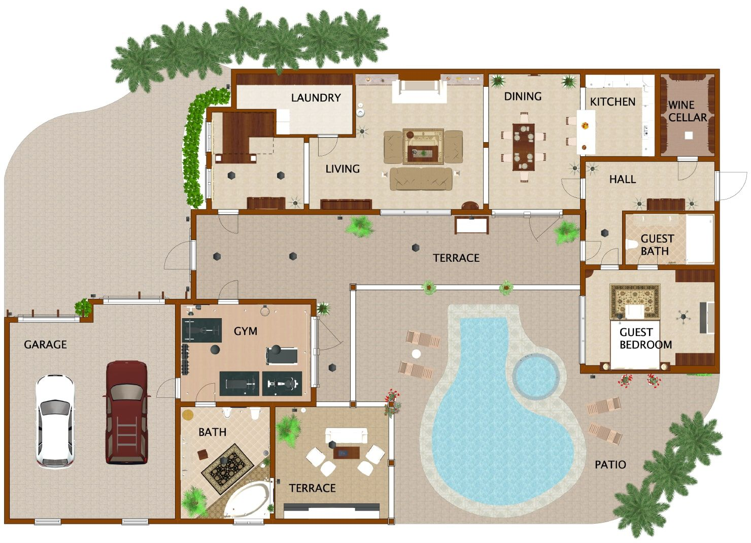 How To Draw A Floorpan Interior Design Software Home Design Software Floor Plans