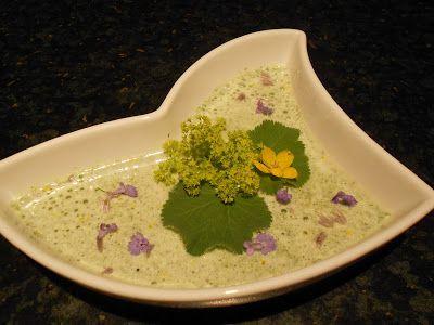 Verboten gut ⚠: Frauenmantel ~ Suppe zum VeggiDay