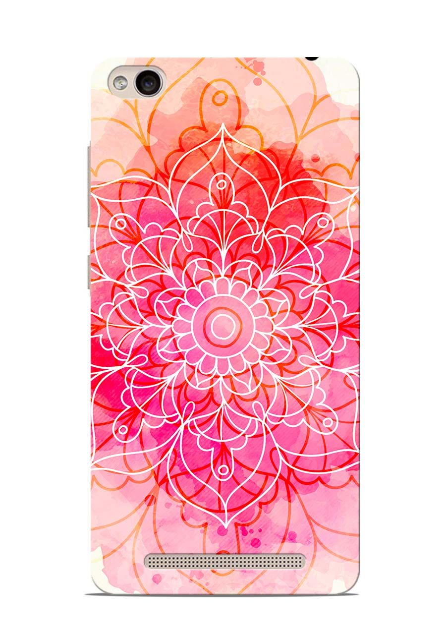 Watercolor Mandala Printed Back Cover For Xiaomi Redmi 3S in