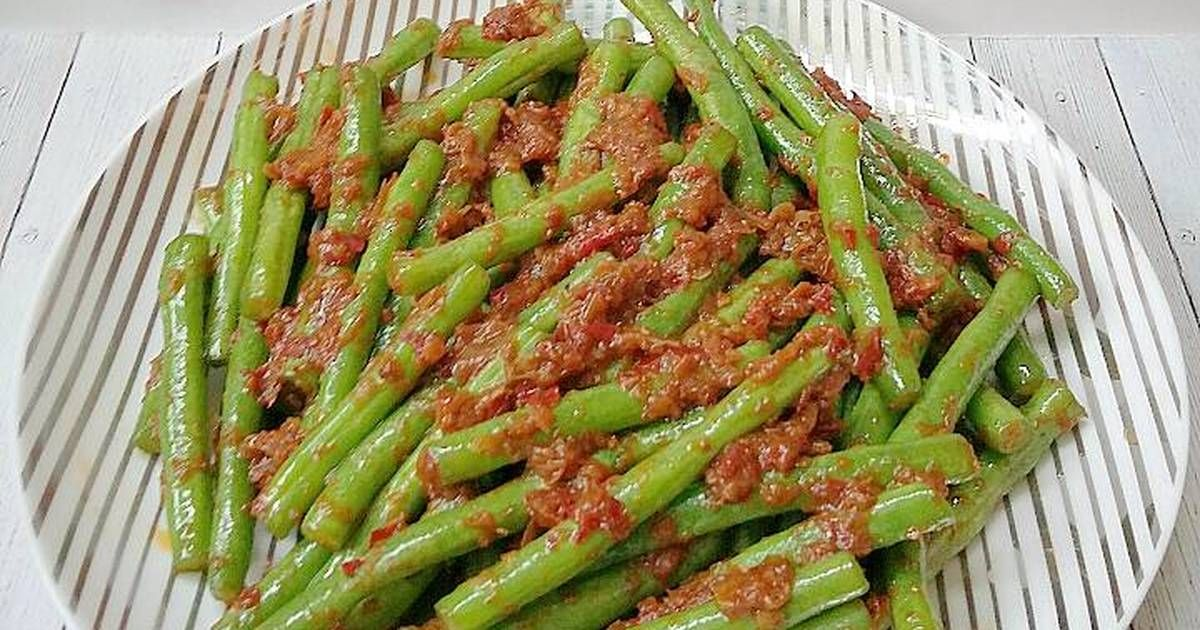 Resep Tumis Buncis Belacan Oleh Susan Mellyani Resep Resep Masakan Indonesia Tumis Makanan Rumahan