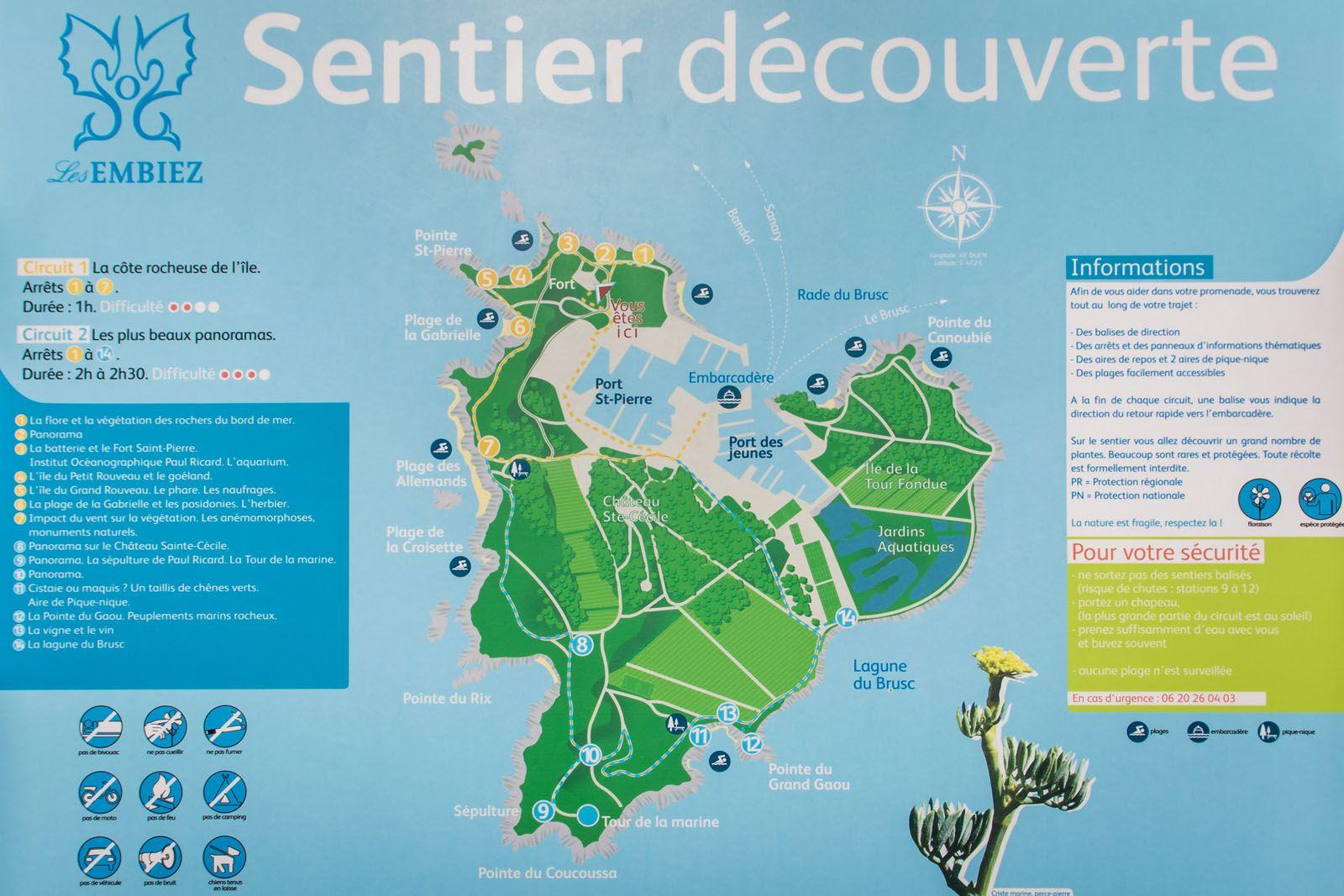 Destinations De Julie Ile Des Embiez Destinations Ile Et Ricard
