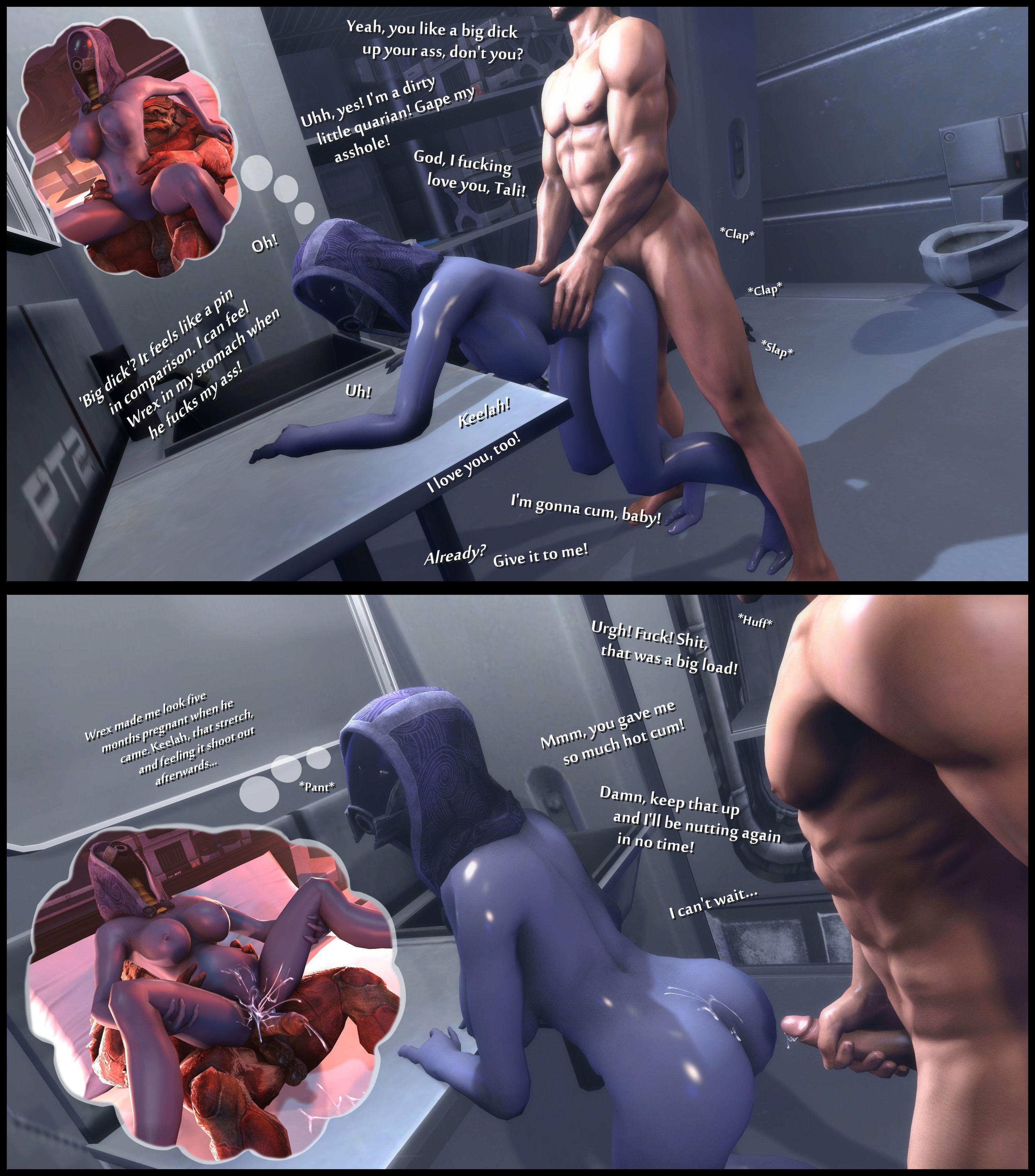 mass effect porno