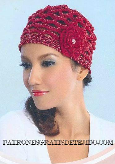 12 Patrones de Gorros Crochet | Crochet y Dos agujas | Crochet y Dos ...