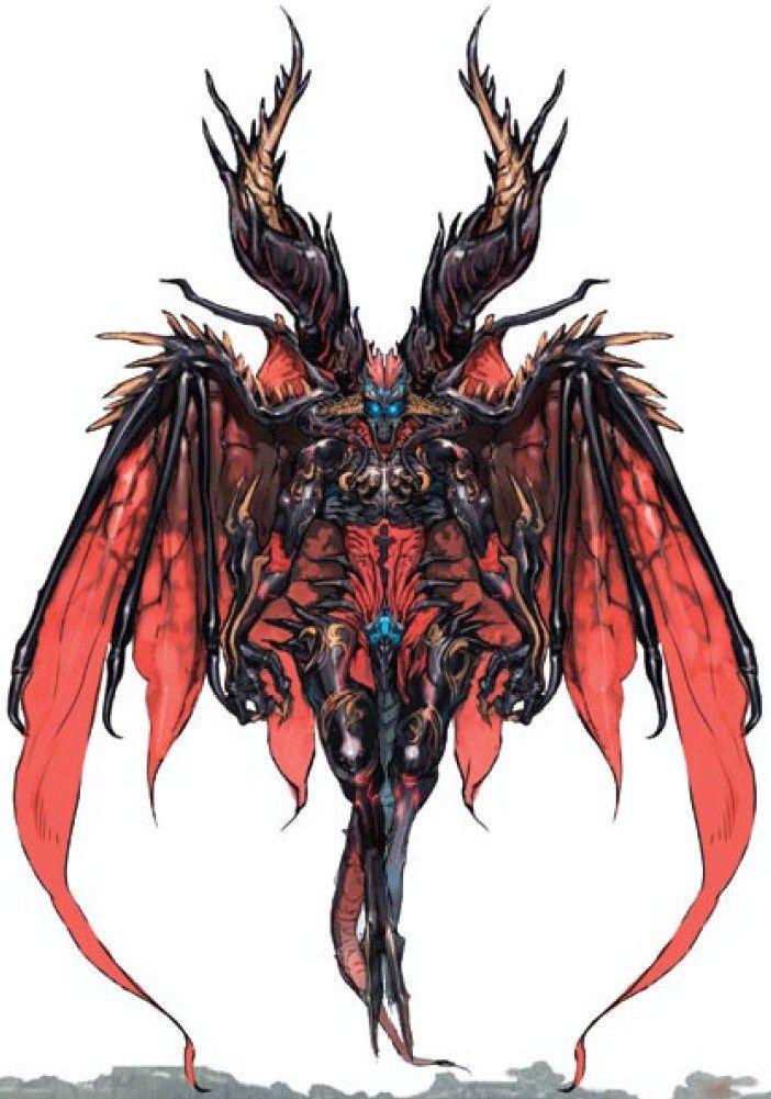 Archfiend Vazdah Ninja Gaiden 2 Is Owned By Team Ninja Demon Art Concept Art Characters Monster Design