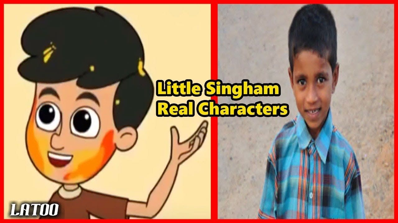 Little Singham Characters In Real Life Little Singham Real Life
