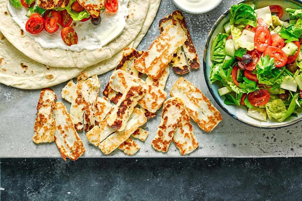 Best halloumi recipes | Recipe in 2020 | Quick vegetarian