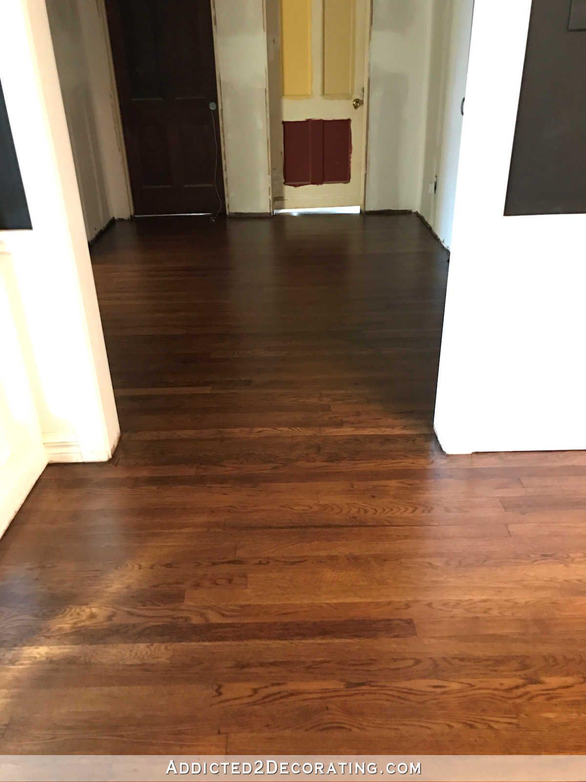 My Newly Refinished Red Oak Hardwood Floors Addicted 2 Decorating Red Oak Hardwood Floors Hardwood Red Oak Hardwood