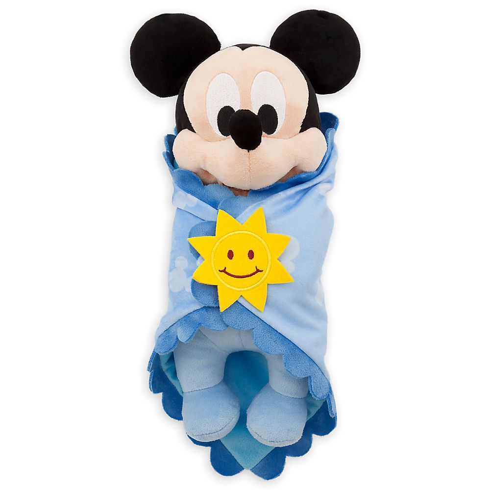 7696a8481a0 Disney s Babies Mickey Mouse Plush Doll and Blanket - Small - 10 ...