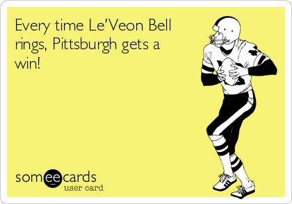 I made this. Love me some Le'Veon Bell!
