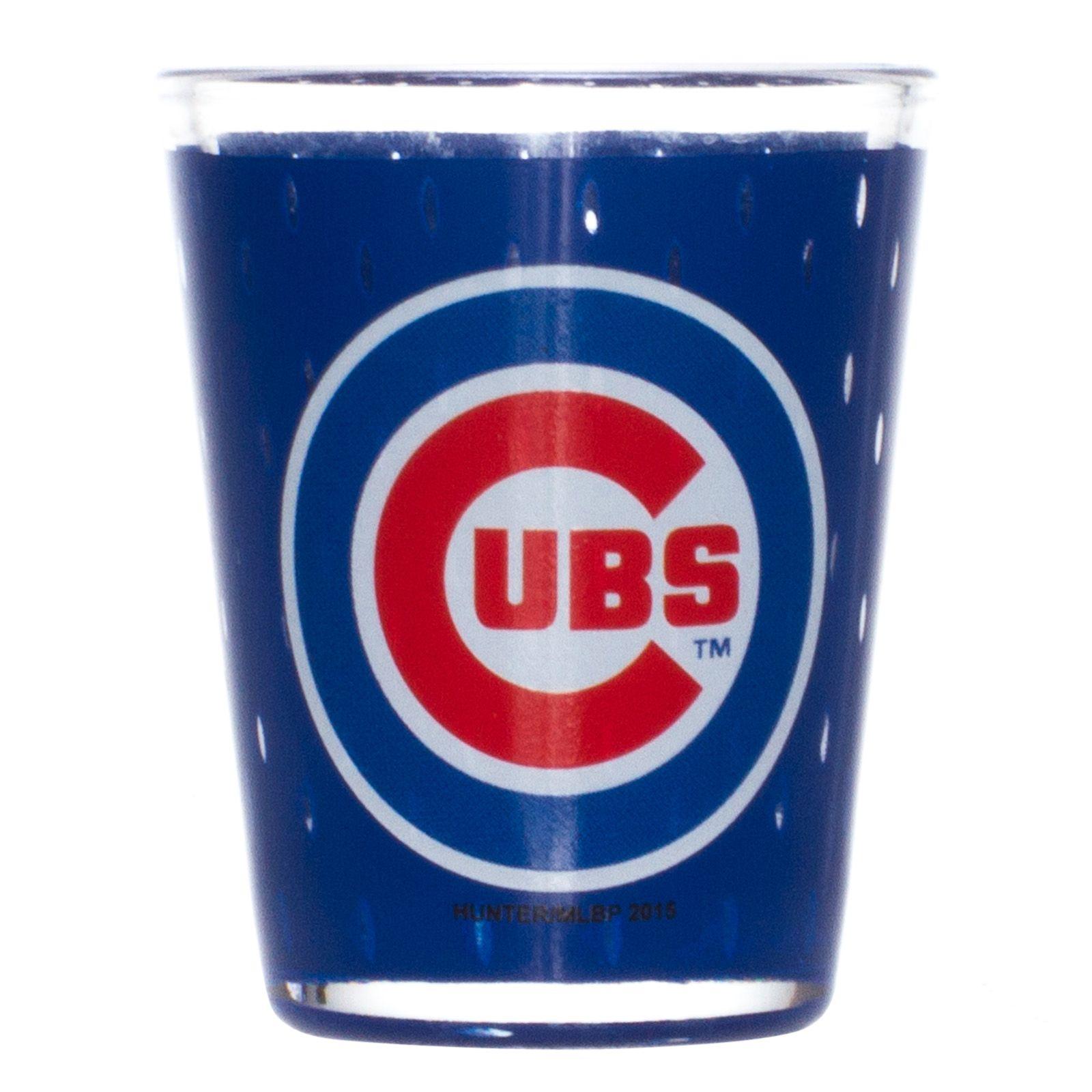 Chicago Cubs Oversize Bullseye Logo Shot Glass By Hunter Chicago Cubs Chicagocubs Chicago Cubs Chicago Cubs Logo Logos