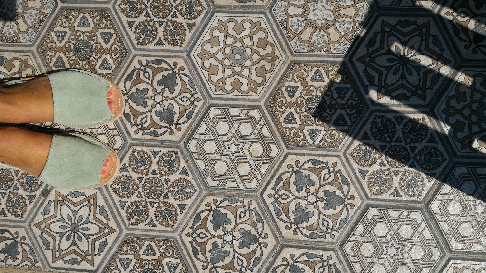 Ottoman inspired tiles