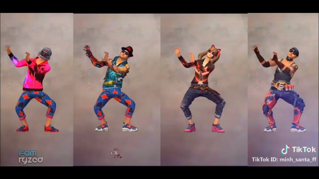 Tik Tok Free Fire Dance Emote Lucu Eps1 Tik Tok Dancing In