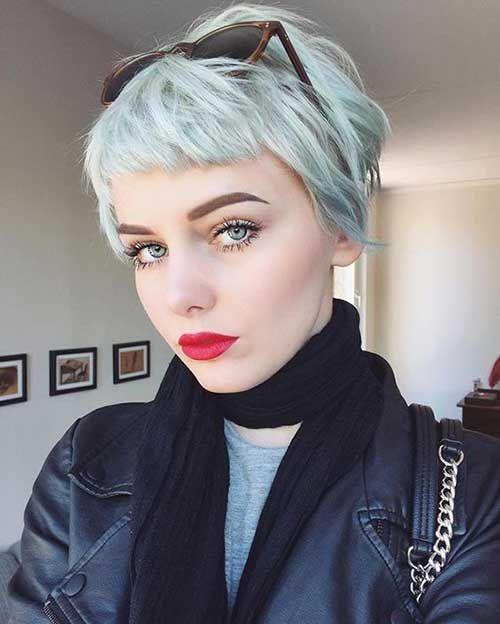 Short Hair Ideas on Pretty Ladies - Styles Art