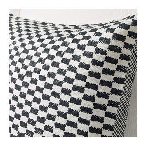 YPPERLIG Kissenbezug, schwarz/weiß | Ikea deutschland, Leicht ...