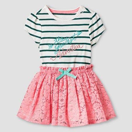 Target Baby Girl Clothes Inspiration Baby Girls' Bodysuit And Skirt Baby Cat & Jack™  Greenpink Inspiration Design